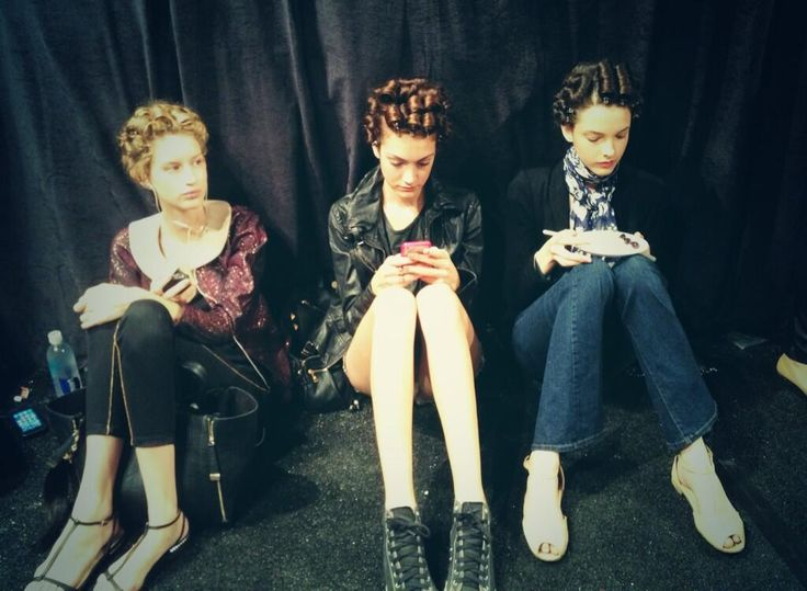 #style #models #backstage #NYFW #SS14 #FONYFW #connected