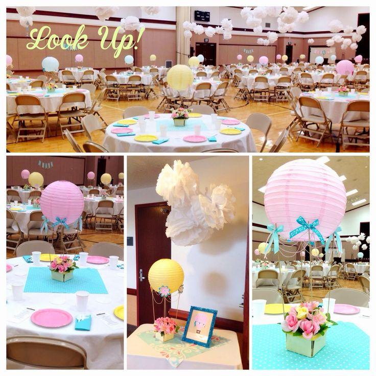 Larcie Bird: Look up! Stake Relief Society Women's Conference {hot air balloon theme}