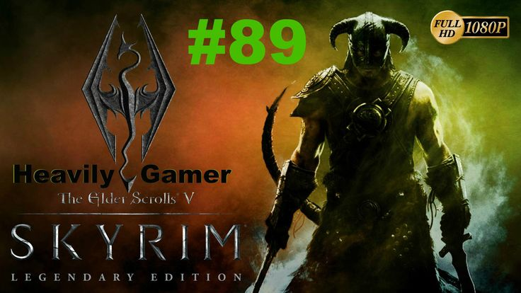 Elder Scrolls V: Skyrim Gameplay Walkthrough (Orc) Part 89:Dragonborn/Th...