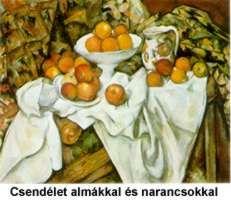 Csendélet almákkal és narancsokkal