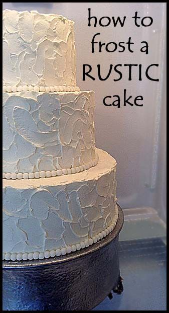how to ice rustic wedding cake 17 best images about cake icing tutorials amp tips on 15756