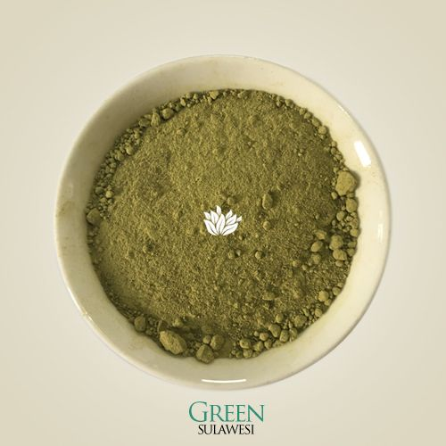Our premium Green Sulawesi kratom powder comes from partially mature kratom leaves harvested from fully mature trees growing along a river in Borneo. The leaves are washed, dried in the shade, then ground two times for optimum, silky smooth texture before being packaged with care. - sulawesikratom.com #kratom