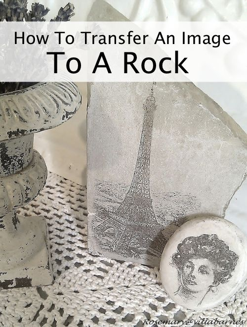 How To Transfer An Image To A Rock...http://homestead-and-survival.com/how-to-transfer-an-image-to-a-rock/