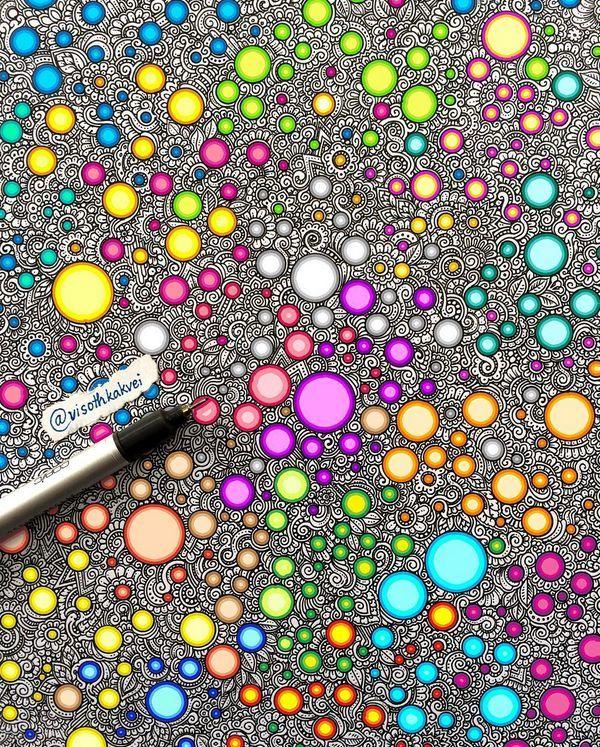 by Visothkakvei #doodle