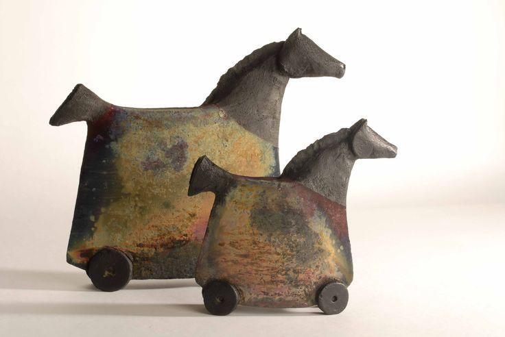 Raku-Keramik von Claudia Craemer