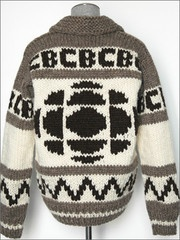 Omg only hockey fans or Canadians will know what this sweater is about. Wonder if Don Cherry will wear it?