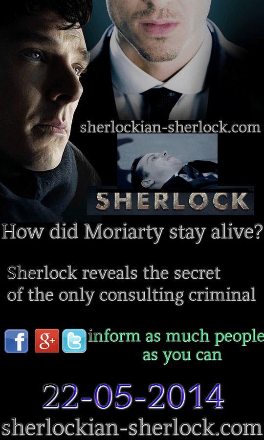 BBC Sherlock, Sherlock Holmes, Benedict Cumberbatch, sherlockian, Moriarty, Andrew Scott, Jim Moriarty, Professor Moriarty, alive, death, fake death, Martin Freeman, Watson, John Watson, Dr. Watson, Sherlock series, Sherlock season 4, secret
