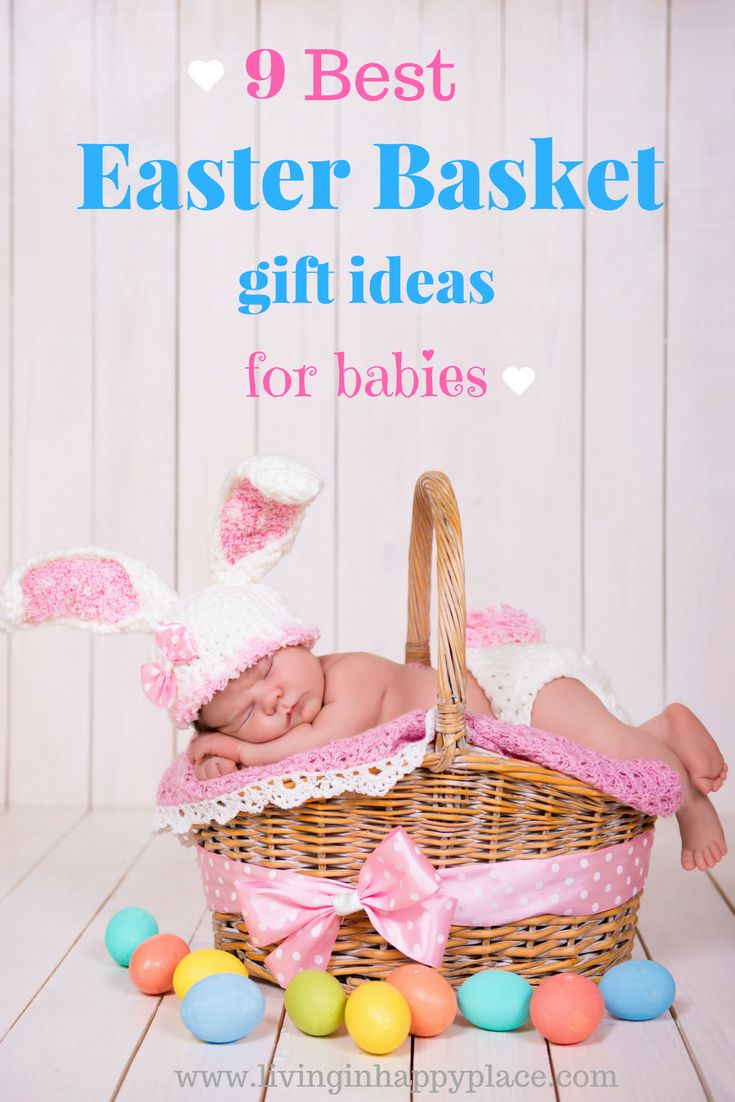 24 best holiday easter images on pinterest 9 best easter basket ideas for babies give your baby the best 1st easter with negle Gallery