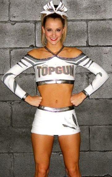 Top Gun All Stars Angels Sport Custom GK Cheerleading Uniform | GK Elite - Cheer
