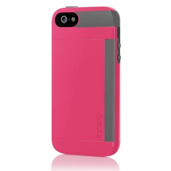 iPhone 5 Stowaway Credit Card Hard Shell Case with Silicone Core - iPhone 5 Cases - iPhone Cases - Devices