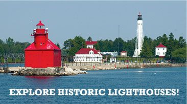 A Light in the Fog: Sturgeon Bay's Famous Lighthouses! | Door County, Wisconsin | Vacations | Hotels | Events | Travel