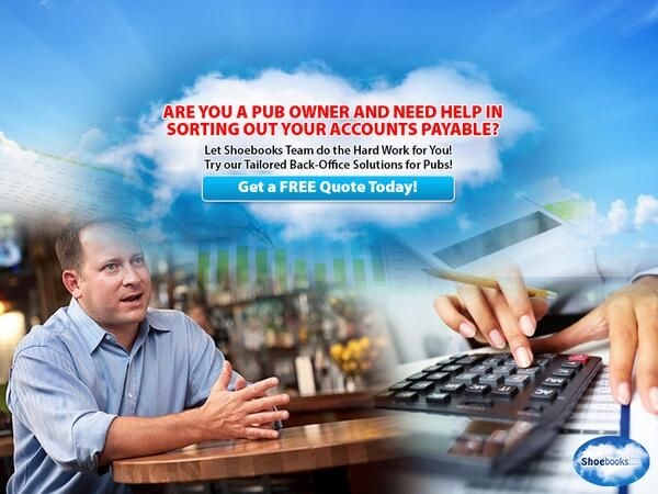 Helping Pubs Sort Out Their Accounts Payable Mess, Get an obligation free quote TODAY! http://bit.ly/1p1MsD6