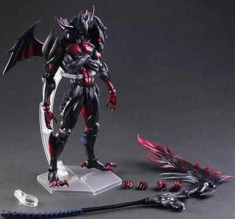 Monster Hunter Ultimate Evil Aromor Devil Monster Hunster 4G 27cm Variant PVC Action Figure Toy Kid - Fun Store Online