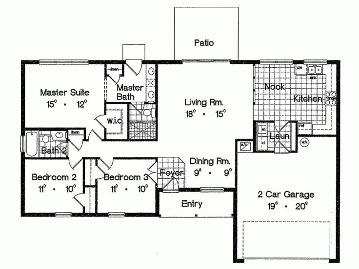 46 Best Small House Plans Images On Pinterest | Floor Plans, Small
