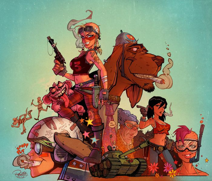 New TANK GIRL project that will only happen if they raise enough through Kickstarter! PLEASE HELP!!! 21st CENTURY TANK GIRL: a book by Hewlett & Martin & Co — Kickstarter