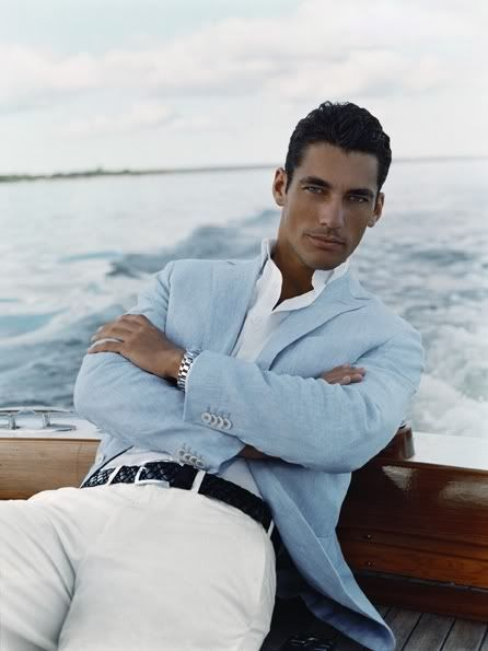 BEAUTIFUL!!!  Not sure if I like the look or David Gandy more???  But I LOVE the jacket!!!