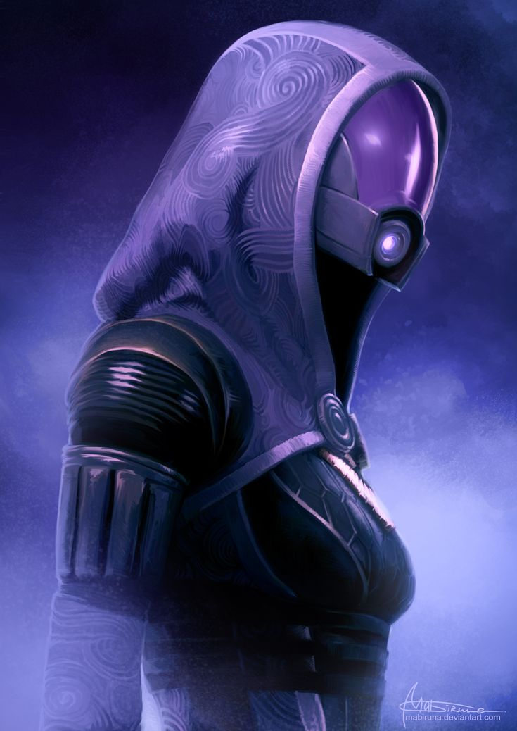 Mass Effect - Tali Zorah Created by Mabiruna