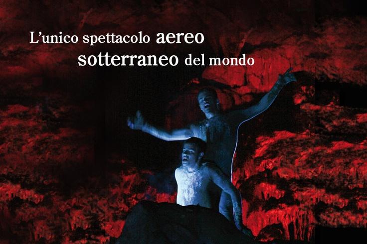 L'unico spettacolo aereo sotterraneo del mondo nelle Grotte di Castellana su www.degustiblog.it