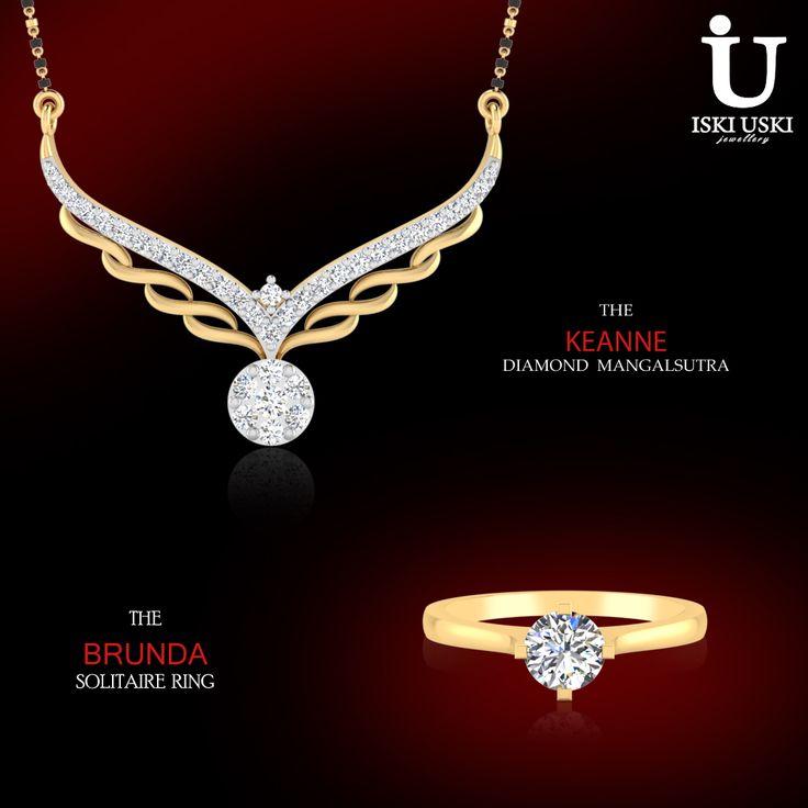 IskiUski is one of the foremost online jewellery shop with the latest jewellery design in Gold, Diamond, Silver!!.     #mangalsutras #Rings #Diamondjewellery #IskiUski