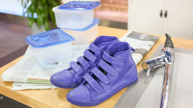 Deodorizing your Shoes