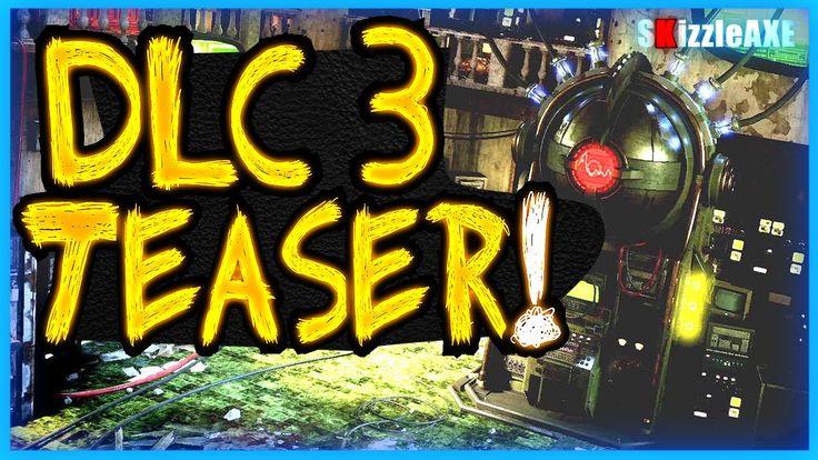 Black Ops 3 ZOMBIES DLC 3 Image & Bo3 DLC 3 Trailer Tomorrow (Black Ops 3 New DLC 3 Zombies map)