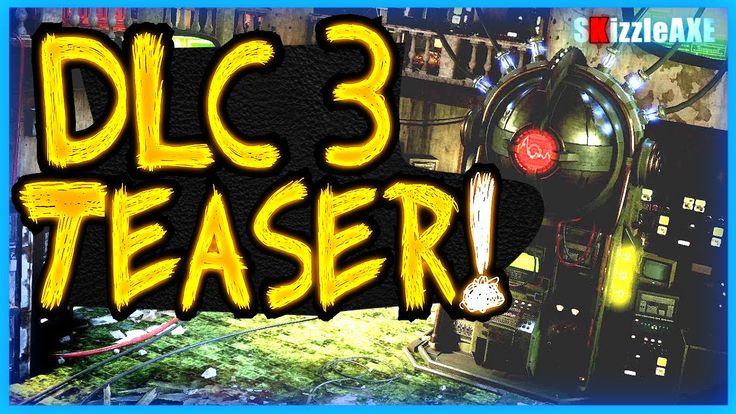 Black Ops 3 ZOMBIES DLC 3 Image & Bo3 DLC 3 Trailer Tomorrow (Black Ops 3 New DLC 3 Zombies map)
