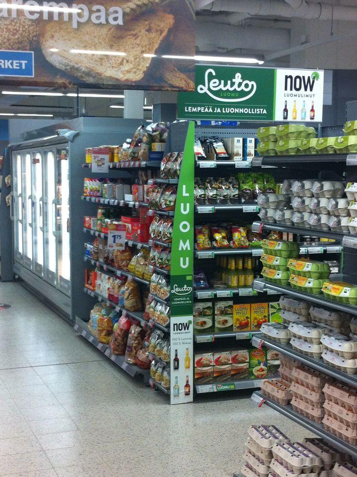 Leuto-brand/Retail marketing at K-Supermarket.