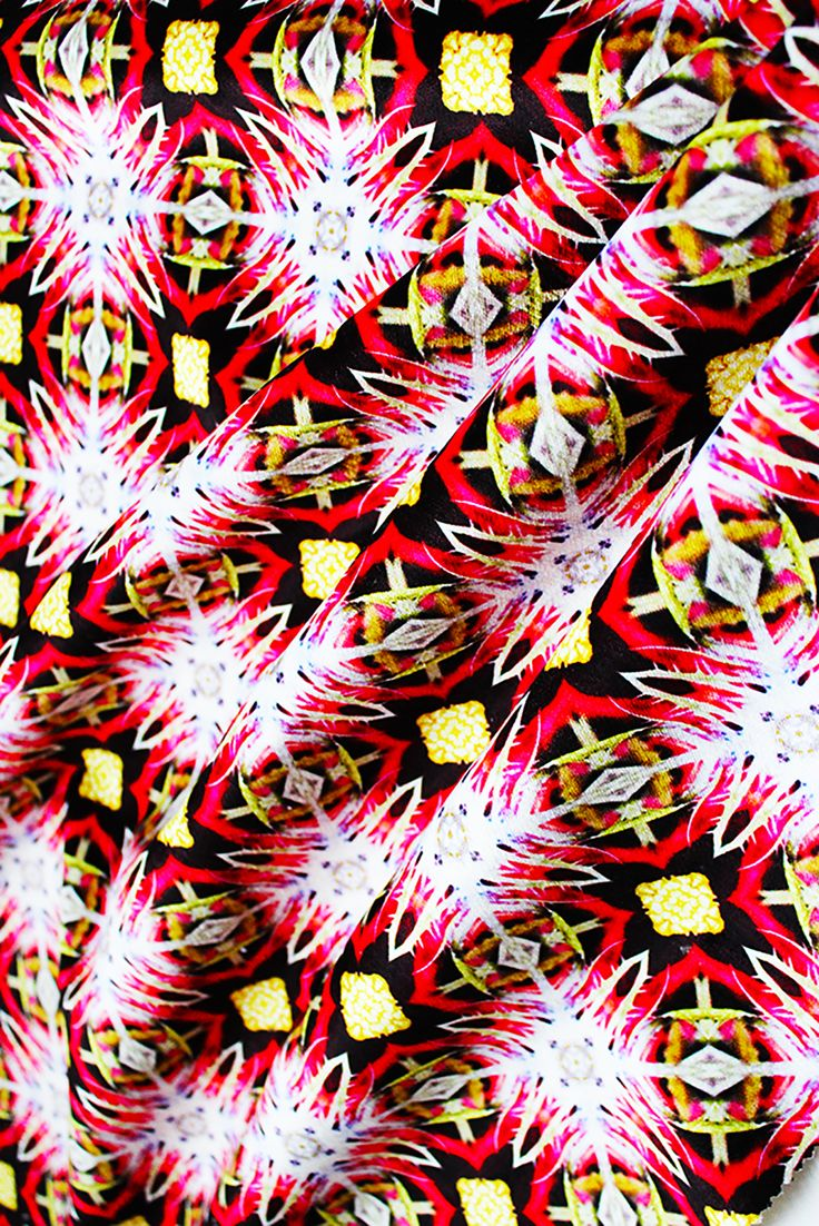 Named after its bright red colour, this fabric is a kaleidoscopic image of a rose. The mix of yellow and red hues are a perfect celebration of the beauty of nature and its stunning creations. The bright colours can be paired with similar tones or with white to put focus onto the fabric.  Ruby is part of our Organic Contour collection is now available as a luxurious fabric suitable for drapery, curtaining, upholstery and furnishings. Each is designed in our Atelier based in Glasgow and…