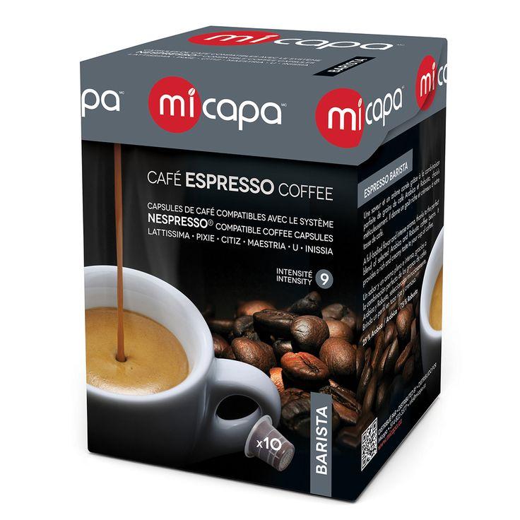 Personal Edge : Micapa BA-001-10 Barista Coffee Pods