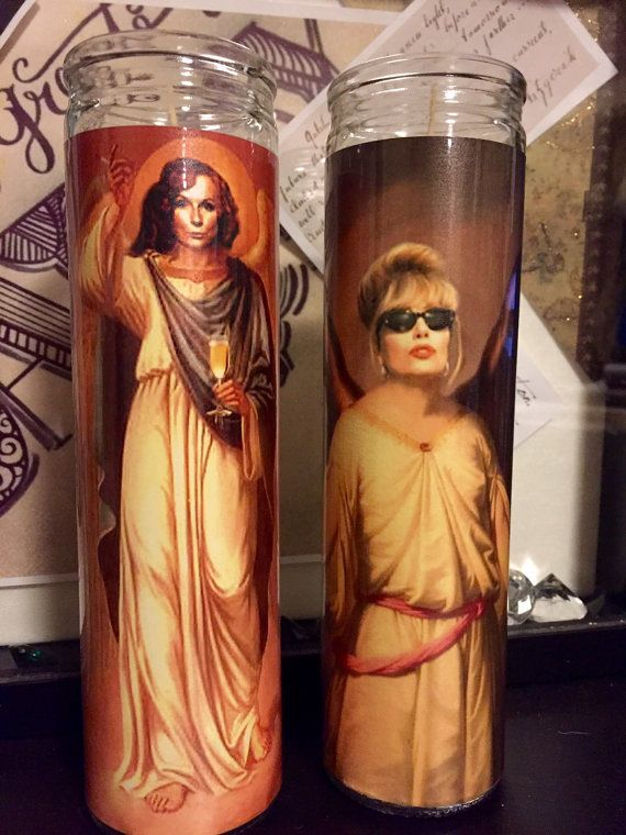 St Edina and Patsy Absolutely Fabulous by RustbeltCooperative...i need these!