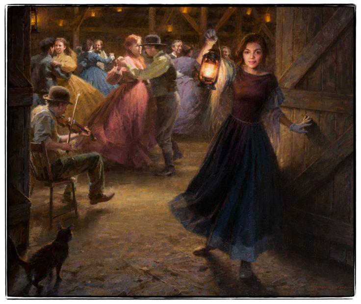The Barn Dance by Morgan Weistling