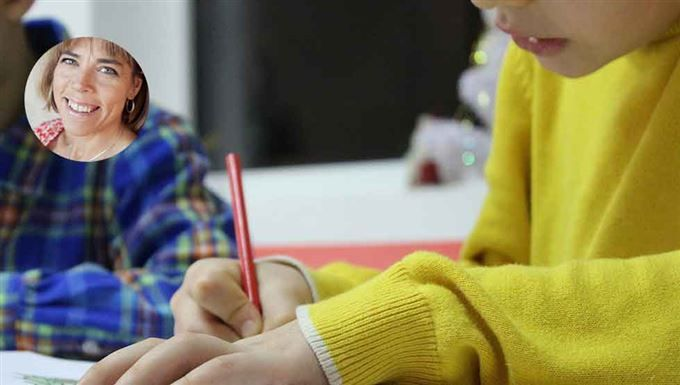 Hillevi Wahl: Jag betalar mitt barn för bra betyg