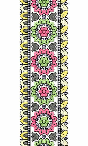 Fashion Clothing Embroidery Lace Design