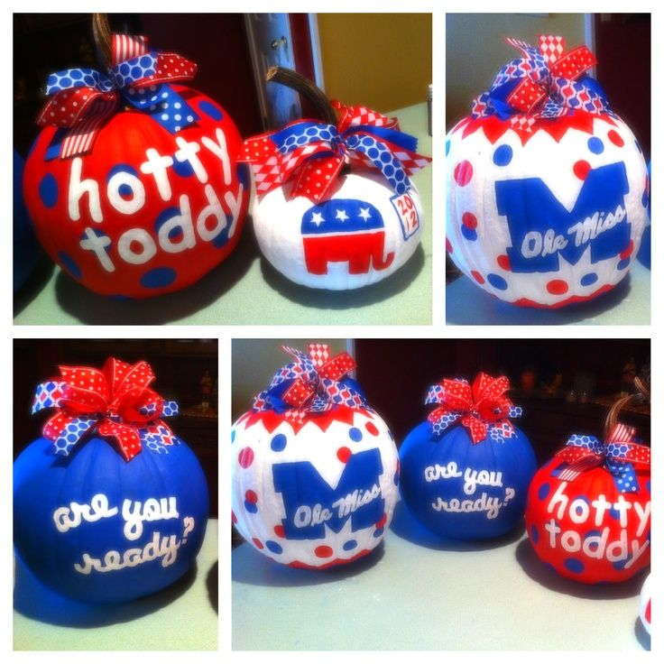 Ole miss pumpkins | Ole Miss Pumpkins | Mississippi Is Where My