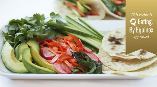 Avocado Tacos with Pickled Carrot Slaw