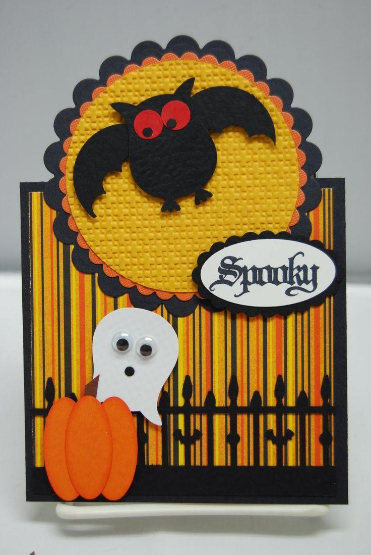 Tracy's Card Closet: Cards Owl, Tracy S Card, Halloween Cards, Holiday Cards, Owl Card, Card Ideas, Punch Cards, Cards Halloween, Card Closet