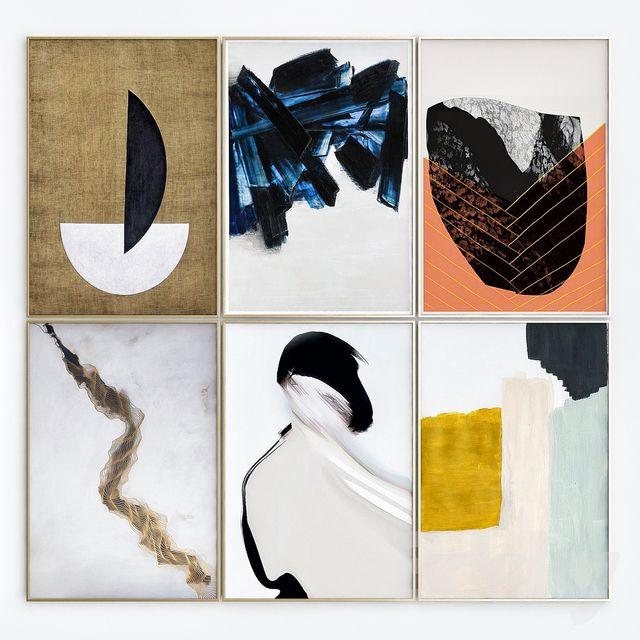 Abstract art frames_8
