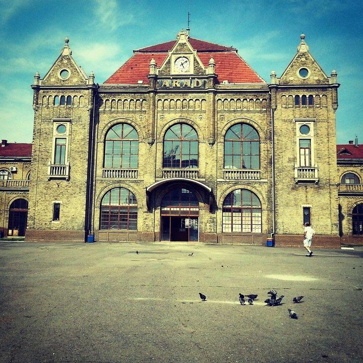 Railway station, Arad, Romania