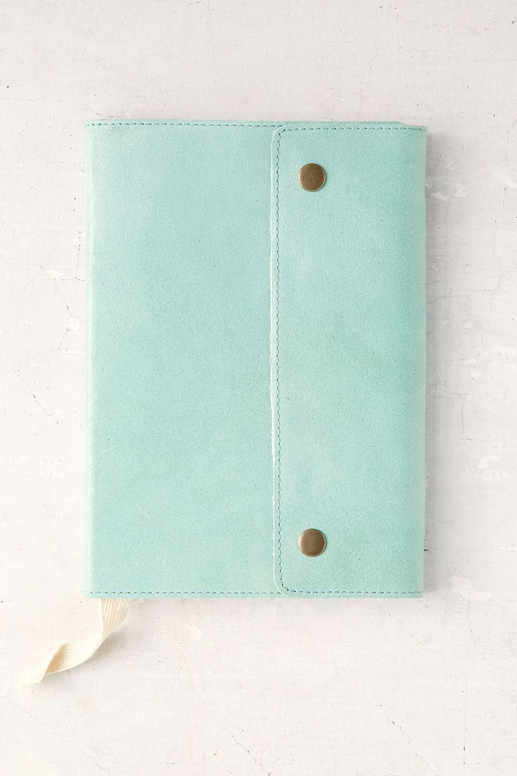 Oh Snap Leather Journal - all colors | UrbanOutfitters