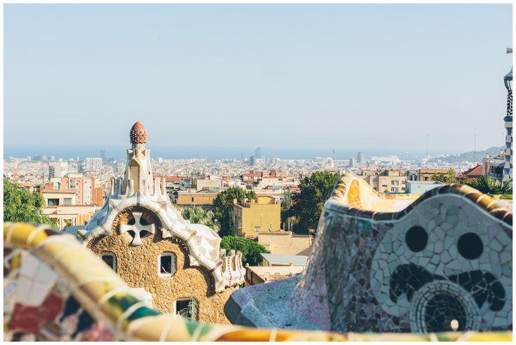 Barcelona – färg, form, hav, sol, konst, mat, skoskav.