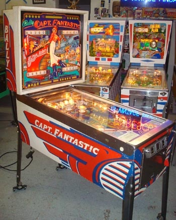 Pinball Wizard, Captain Fantastic wish I had this one to match with the Pinball Wizard machine