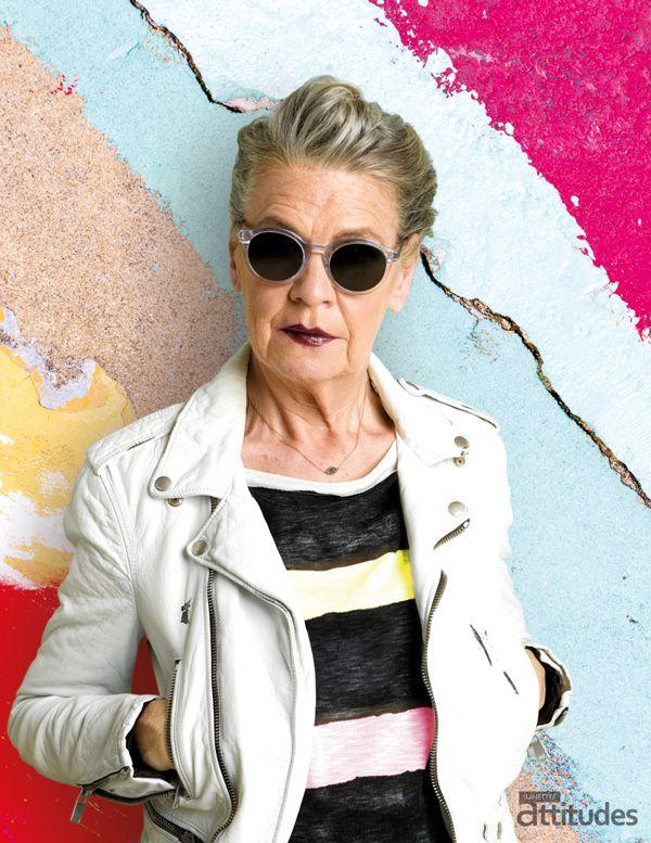 Lunettes Attitudes Magazine Automne-Hiver 2016-2017  par @agence100   Premier consumer magazine des Opticiens Indépendants de France !  #senior #fashion #glasses #lunettes #badass #perfecto
