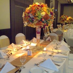 46 best 50th anniversary floral ideas images on for Table decoration 50th birthday