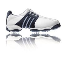 Adidas Golf Adidas Tour 360 II Golf Shoe White/Navy/Metallic Adidas Tour 360 II Golf Shoe White/Navy/Metallic Limited Edition Only a few of these Adidas Men http://www.comparestoreprices.co.uk/golf-shoes/adidas-golf-adidas-tour-360-ii-golf-shoe-white-navy-metallic.asp