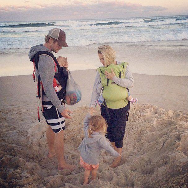Elsa Pataky's Family Photos on Instagram   POPSUGAR Celebrity