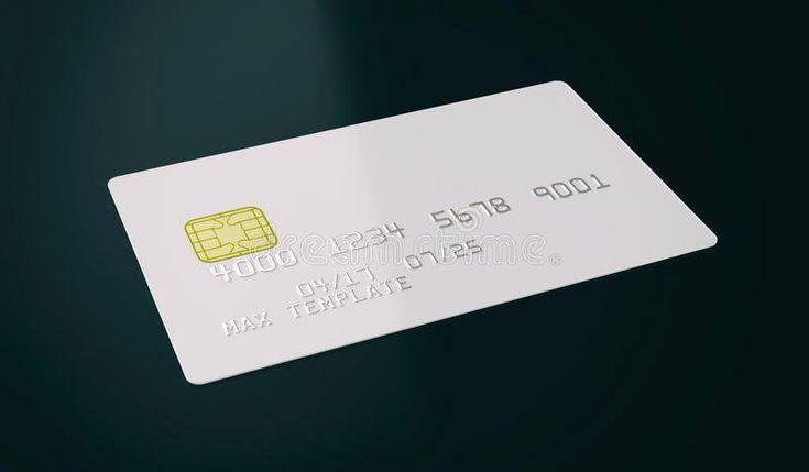 Blank credit card template fresh blank white credit card