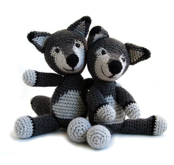 Lobo Amigurumi Tutorial : 1000+ ideas about Crochet Wolf on Pinterest Amigurumi ...