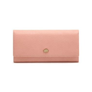 Mulberry - The New Romantics | Tree Continental Wallet in Rose Petal Small Classic Grain