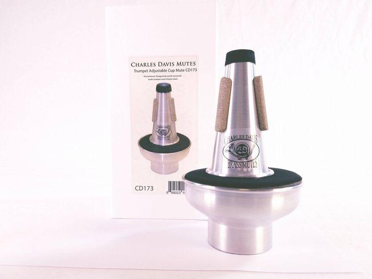 Charles Davis CD173 Trumpet Adjustable Cup Mute BRAND NEW