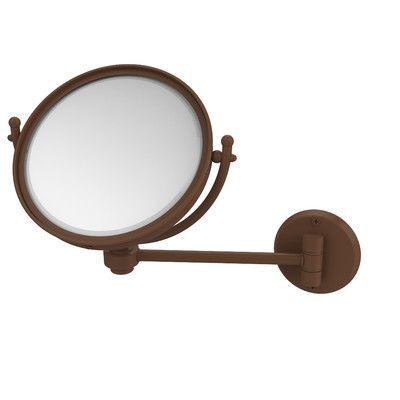 Allied Brass Universal Extendable Mirror Magnification: 4x, Finish: Antique Bronze